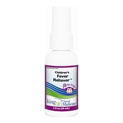 King Bio - Homeopathic Natural Medicine Children's Fever Reliever - 2 oz.