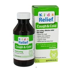 Homeolab USA - Kids Relief Cough & Cold - 3.4 oz.