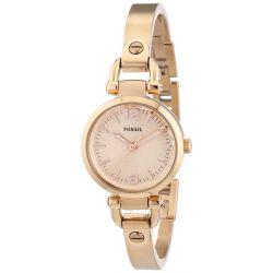 Fossil Damen-Armbanduhr XS Analog Quarz Edelstahl ES3268 Biżuteria i Zegarki