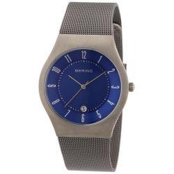 Bering Time Herren-Armbanduhr Classic Analog Edelstahl beschichtet 11937-003 Biżuteria i Zegarki