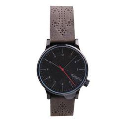 Komono Winston Brogue Charcoal Armbanduhr KOM-W2014 Biżuteria i Zegarki