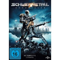 Schwermetall Chronicles - Die komplette 1. Staffel [3 DVDs]