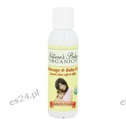 Nature's Baby Organics - Organic Baby Oil Mandarin Coconut Mandarin Coconut - 4 oz.