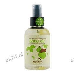 Little Twig - Baby Oil Organic Lavender, Lemon & Tea Tree - 4 oz.