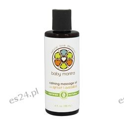 Baby Mantra - Calming Massage Oil with Apricot & Avocado Oil Fragrance-Free - 4 oz.