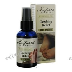 Nature's Inventory - Wellness Oil 100% Organic Teething Relief - 2 oz.
