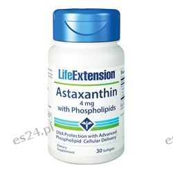 Life Extension - Astaxanthin with Phospholipids - 30 Softgels