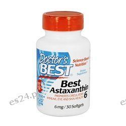Doctor's Best - Best Astaxathin 6 mg. - 30 Softgels