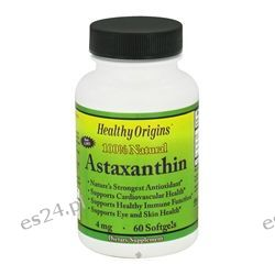 Healthy Origins - Astaxanthin 4 mg. - 60 Softgels