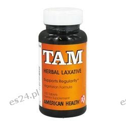 American Health - Tam Herbal Laxative - 100 Tablets