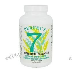 Agape Health Products - Perfect 7 Intestinal Cleanser Psyllium-Herbal Combination 500 mg. - 400 Capsules