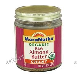 MaraNatha - Organic Raw Almond Butter Creamy - 8 oz.