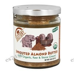 Dastony - 100% Organic Sprouted Almond Butter - 8 oz.