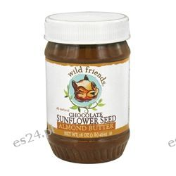 Wild Friends - All Natural Almond Butter Chocolate Sunflower Seed - 16 oz.