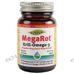 Mega-Rot Krillöl-Omega-3 - 30 Kapseln