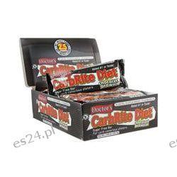 Universal Nutrition, Doctor's CarbRite Diet Bars, Sugar-Free, Chocolate Brownie, 12 Bars, 2 oz (56.7 g) Each