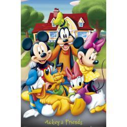 plakat MYSZKA MIKI i Przyjaciele