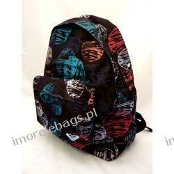 Szkolny plecak Roxy dla dziewczyny StripdAndDots A4