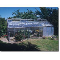 Szklarnia Gardener - Ogrodnik 27 m2 (srebrna, 4mm szkło hartowane)...