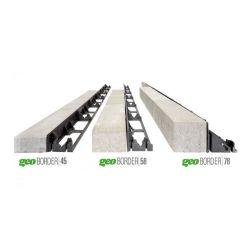 Krawężnik ogrodowy - obrzeża ogrodowe geoBorder 45 wymiar: 4,5 cm x 100 cm pakiet 70 sztuk...