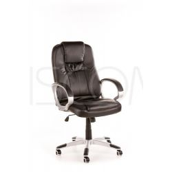 Fotel biurowy Marcus - czarny...