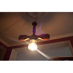 Lampa żyrandol drewniany-OKAZJA!! !