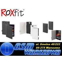 Roxfit Side Flip Book Xperia Z ORYGINAŁ ETUI W-WA