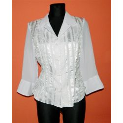 biała bluzka (M)