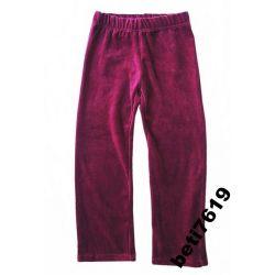 super markowe spodnie dresy przedszkole 110-116