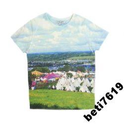 MARKS & SPENCER t-shirt koszulka 134 VILLAGE Rozmiar 134