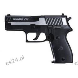 Wiatrówka - Pistolet HAMMERLI P26 Dark Ops