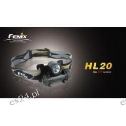 Latarka Fenix HL20 R2 - latarka czołowa  Pistolety