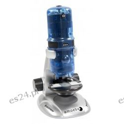 Mikroskop cyfrowy Celestron Amoeba (niebieski)