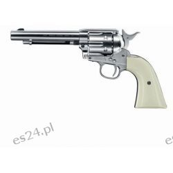Wiatrówka - Rewolwer Colt Single Action Army .45 4.5 mm - nikiel (023-024) KB