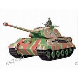 Model zdalnie sterowanego czołgu German King Tiger z działkiem ASG (3888G)