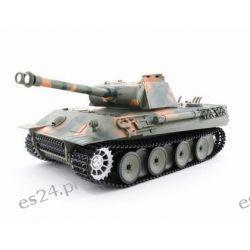 Model zdalnie sterowanego czołgu German Panther z działkiem ASG (3819)