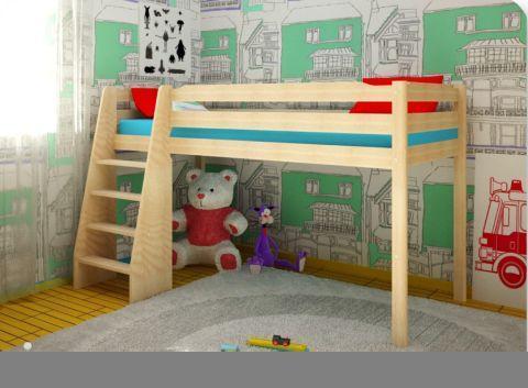 Сделать своими руками кровать чердак детскую