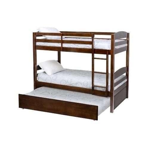 łóżko Piętrowe 3 Osobowe Z Barierkami 160x70 Cm łóżka Piętrowe