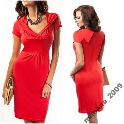 Sukienka Enny 17041*czerwień***Nowość!***42