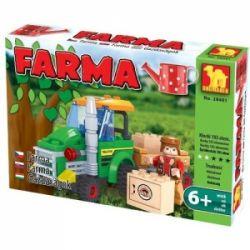 KLOCKI FARMA 28401 Traktor z przyczepą - 103 eleme