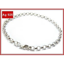 Srebrna bransoletka do charms [b1] Biżuteria i Zegarki