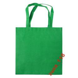 Torba na zakupy PP długie raczki zielona 20242