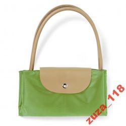 TORBA na zakupy składana zielona 5809