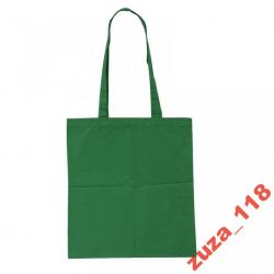 Torba ekologiczna zielona długie rączki R08514