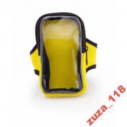 Saszetka opaska na rękę żółta 8633