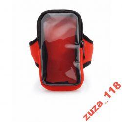 Saszetka opaska na rękę czerwona 8633