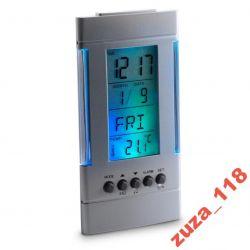 Zegar stacja pogody termometr kalendarz 3648 Zegary