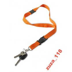 SMYCZ reklamowa odpinana pomarańczowa 40cm 2403.07