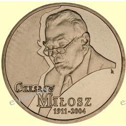 2 zł GN Czesław Miłosz