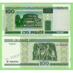Białoruś 100 RUBLI 2000 rok